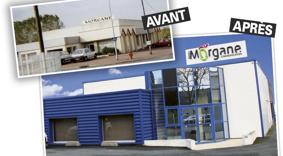 Repenser l'entreprise : avant/après de l'Agence Morgane