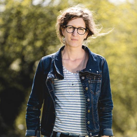 Aurélie graphiste Agence Morgane Communication