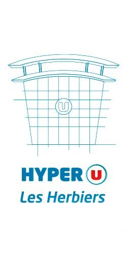 La communication visuelle du Hyper U réalisée par notre Agence Communication Agroalimentaire