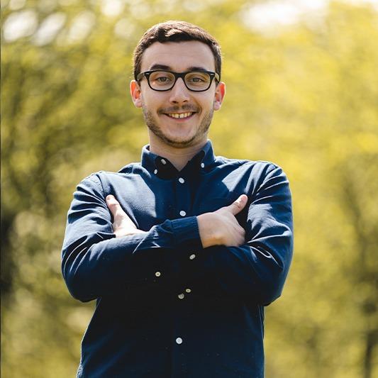 Quentin chef de projet web développeur Agence Morgane Communication