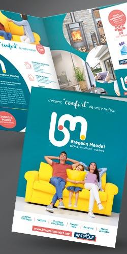 Refonte de l'identité graphique de l'entreprise Bregeon Maudet