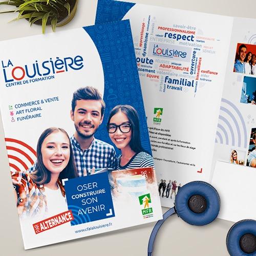 Notre agence Conseil Communication Morgane accompagne CFA La Louisière