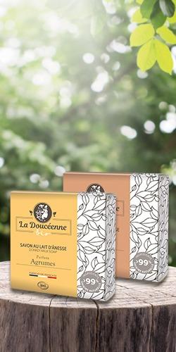 Design de packaging pour la Savonnerie des Collines